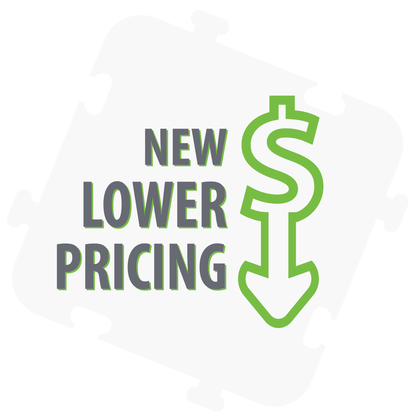 New Lower Pricing