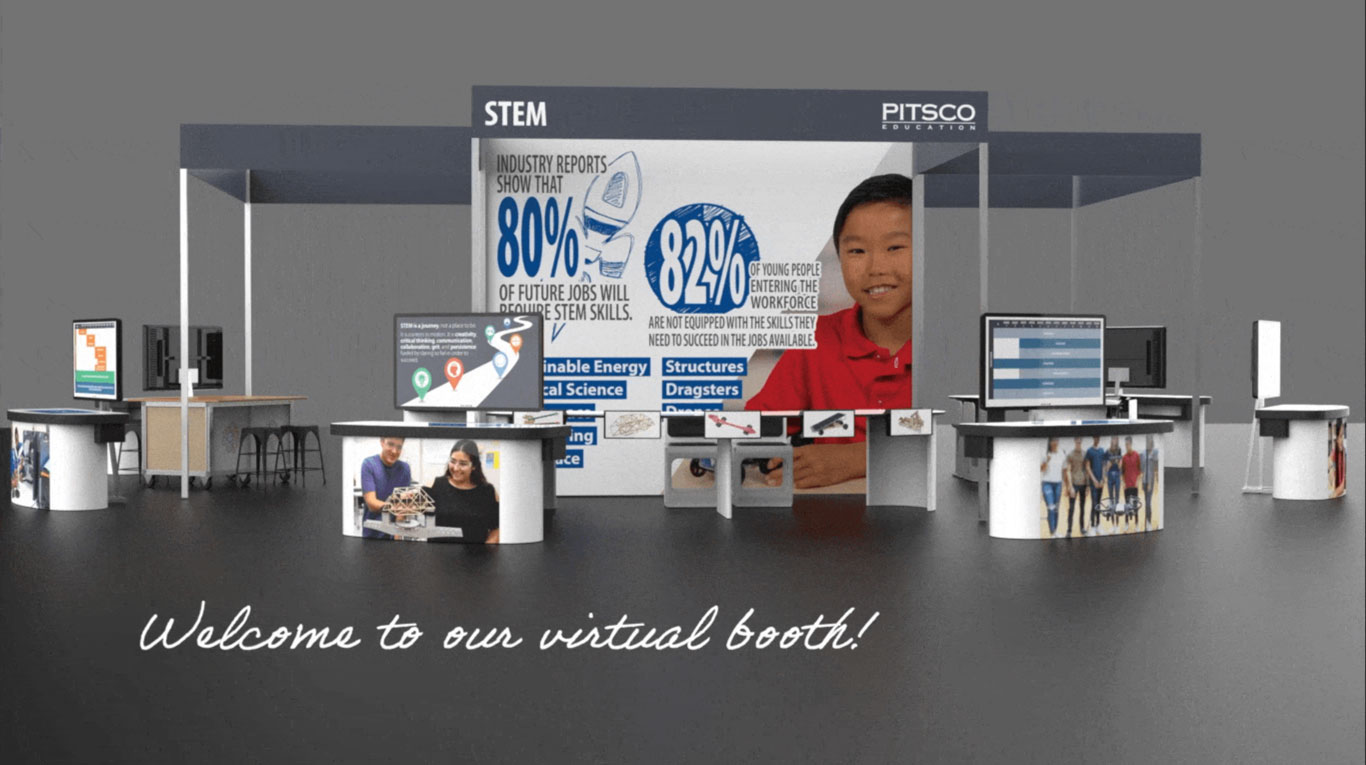 Welcome to our virtual booth!